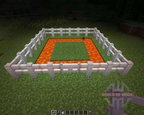 Iron Fence [1.6.2] для Minecraft