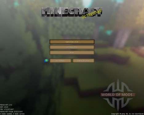 Pavilion [128x][1.7.2] для Minecraft