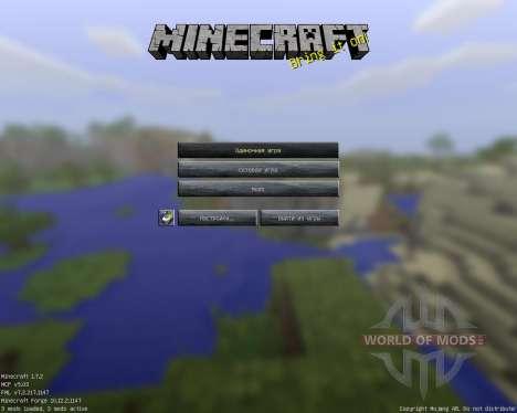 Cyberghostdes Scifantasy Pack [256x][1.7.2] для Minecraft