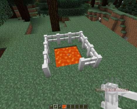 Iron Fence [1.7.2] для Minecraft