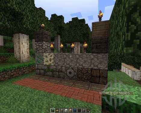 Conquest [32x][1.7.2] для Minecraft