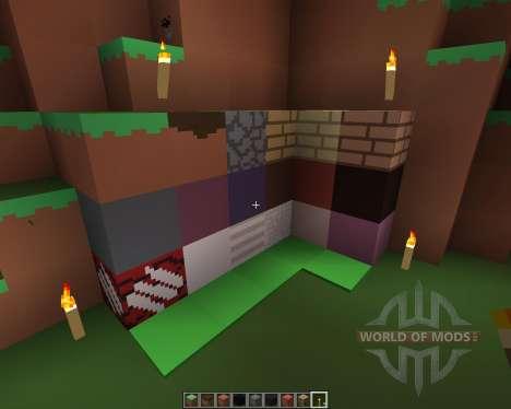 PixelPack by Cichyy [16x][1.7.2] для Minecraft