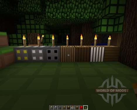 RiceCraft [16x][1.7.2] для Minecraft