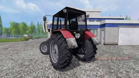 МТЗ-1025 Беларус v2.0 [red] для Farming Simulator 2015