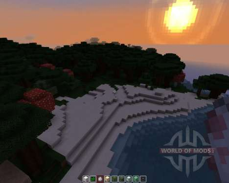 Pamplemousse [16x][1.8.1] для Minecraft
