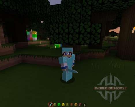 Tyzas SimplySharp [128х][1.8.1] для Minecraft