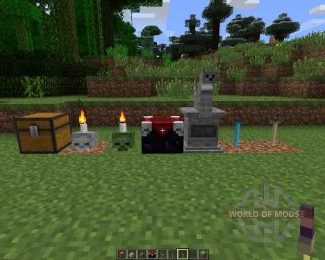 Gravestone [1.6.2] для Minecraft