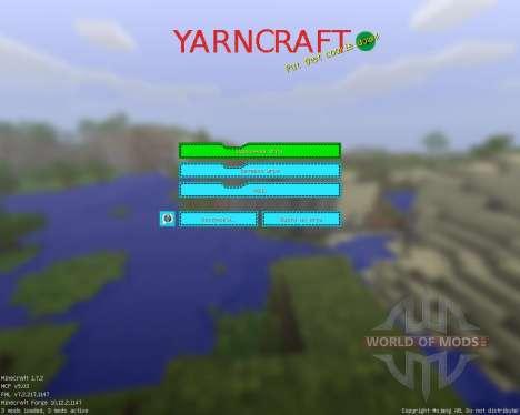 Epic Yarncraft [16x][1.7.2] для Minecraft
