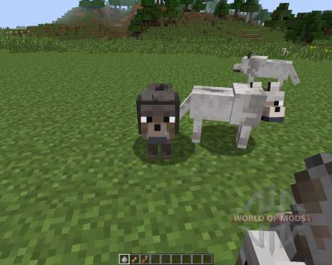 Sophisticated Wolves [1.7.2] для Minecraft