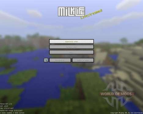Milk Life [16x][1.7.2] для Minecraft