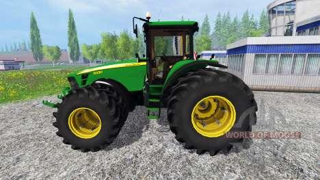 John Deere 8330 v2.0 для Farming Simulator 2015