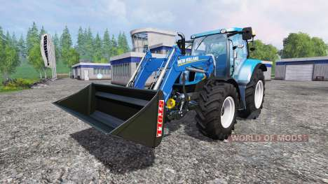 New Holland T6.160 SC для Farming Simulator 2015