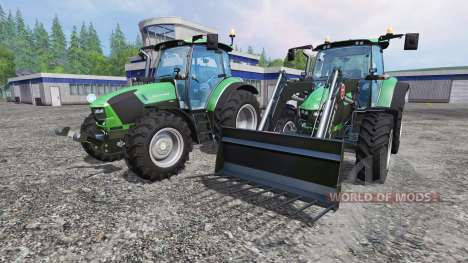 Deutz-Fahr 5130 TTV v2.0 для Farming Simulator 2015