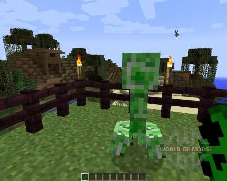 Stalker Creepers [1.7.2] для Minecraft