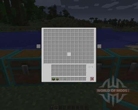 Multi Page Chest [1.6.2] для Minecraft