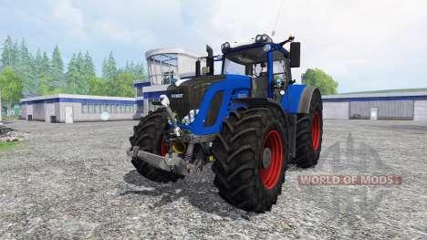 Fendt 936 Vario blue power для Farming Simulator 2015