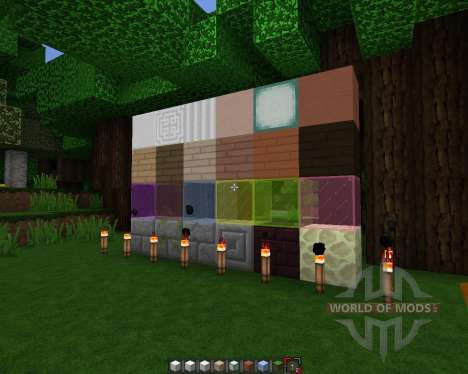 Rectic Pack [64x][1.8.1] для Minecraft