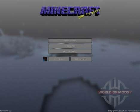 A New World [16х][1.8.1] для Minecraft