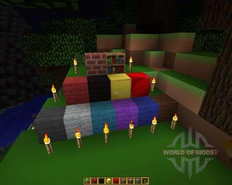 Defender of Texel Resource Pack [16x][1.7.2] для Minecraft