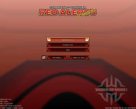 Red Alert 3 [32x][1.7.2] для Minecraft
