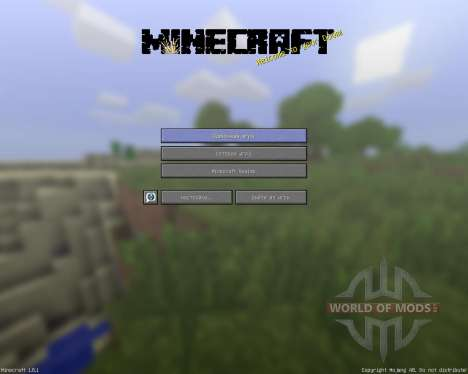 SaraCraft [64х][1.8.1] для Minecraft