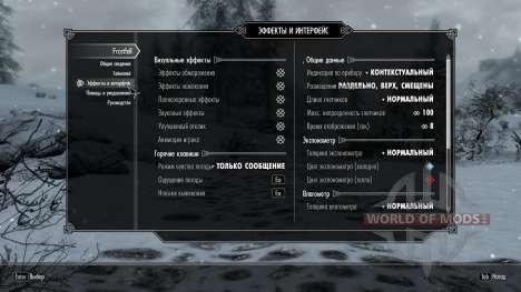 Заморозки - спасение в лагере [2.6] для Skyrim третий скриншот