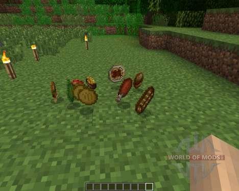 HarvestCraft [1.6.2] для Minecraft