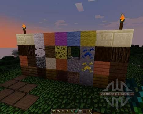 HearthCraft Texture Pack [16x][1.7.2] для Minecraft
