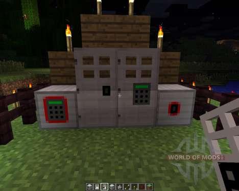 Key and Code Lock [1.6.2] для Minecraft