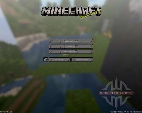 MineHD [256x][1.8.1] для Minecraft