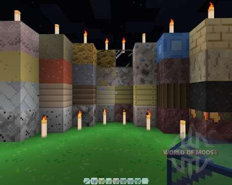 Fire Leaf [16х][1.8.1] для Minecraft