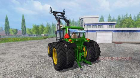 John Deere 6630 Premium FL для Farming Simulator 2015