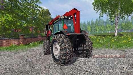 Valtra Valmet 6600 forest для Farming Simulator 2015