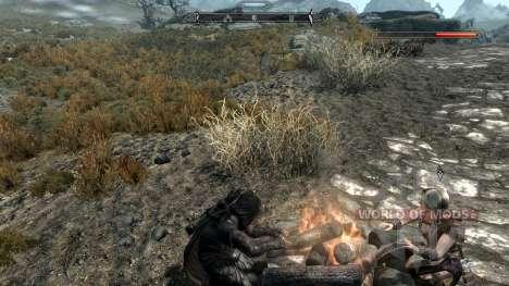 Заморозки - спасение в лагере [2.6] для Skyrim одиннадцатый скриншот
