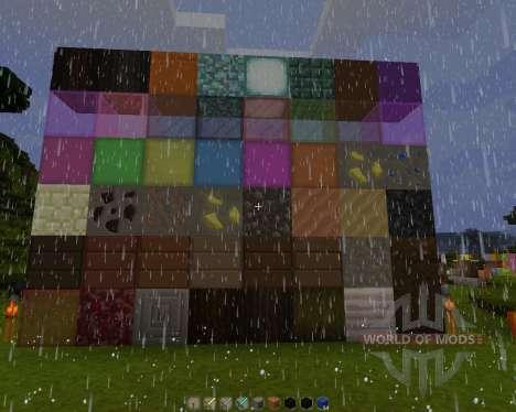 Rustics 128x [128x][1.8.1] для Minecraft