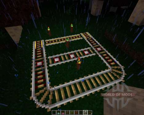 Shadowed [16x][1.7.2] для Minecraft