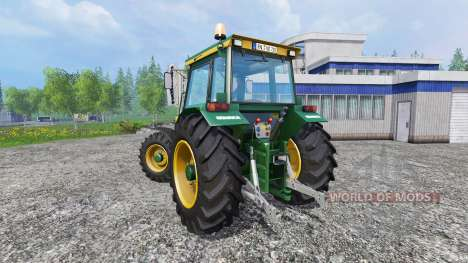 Buhrer 6135A Normal для Farming Simulator 2015