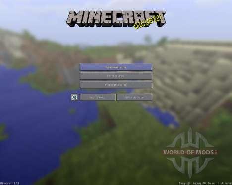 Detailed Realism [128х][1.8.1] для Minecraft