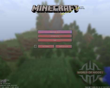 Initium [Discontinued] [16x][1.7.2] для Minecraft