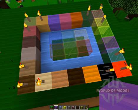 BlazeMc Texture Pack [8x][1.7.2] для Minecraft