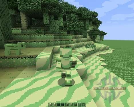 CraftBoy Green [16x][1.8.1] для Minecraft