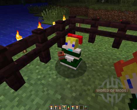 Touhou Alices Doll [1.6.2] для Minecraft