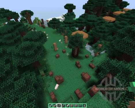 Alvorias Mint Flavor [64х][1.8.1] для Minecraft