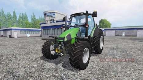 Deutz-Fahr Agrotron 120 Mk3 v2.0 для Farming Simulator 2015