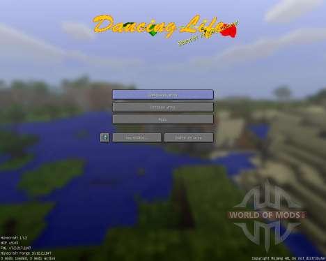 Dancing Life [16x][1.7.2] для Minecraft