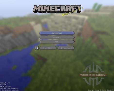 TechnoGoldPackage [16x][1.7.2] для Minecraft
