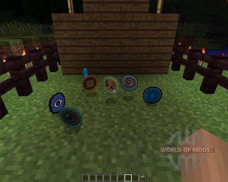 Cyan Warrior Swords [1.6.2] для Minecraft