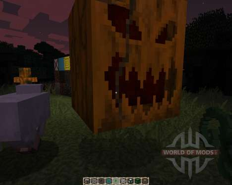 Pumpkin Patch [32x][1.8.1] для Minecraft