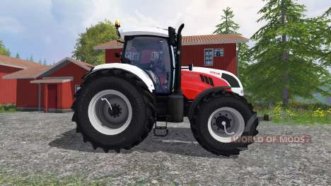 Steyr CVT 6230 [edit] для Farming Simulator 2015