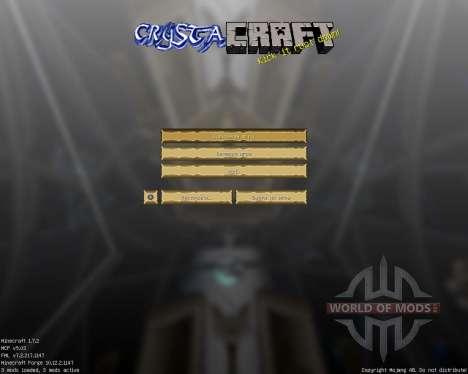 CrystaCraft [32x][1.7.2] для Minecraft